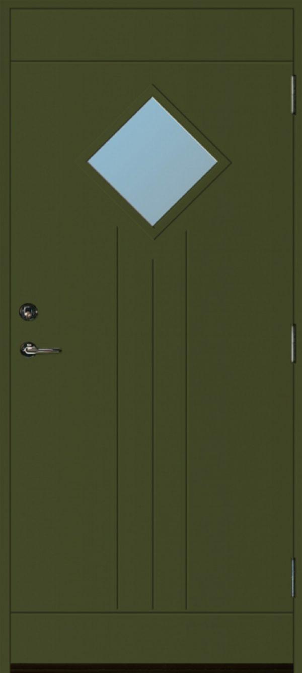 Grön dörr 806