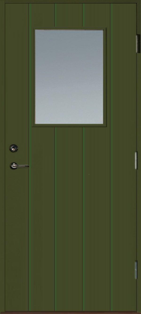 Grön dörr 851