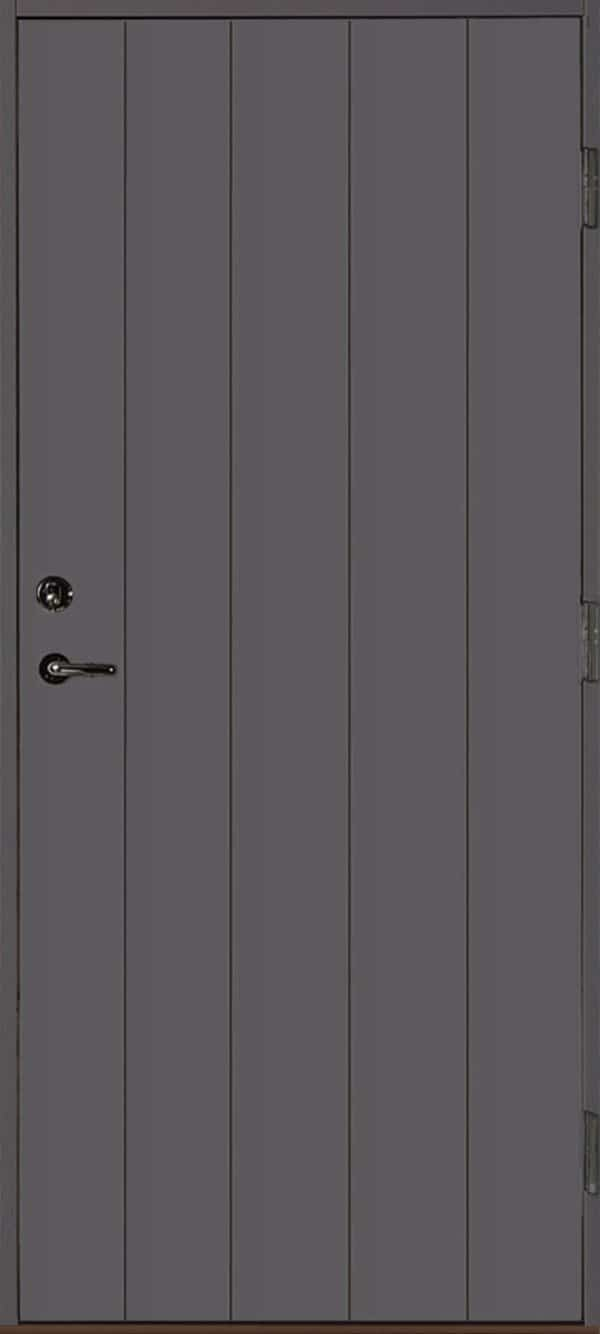 Dörr rakspårad grå