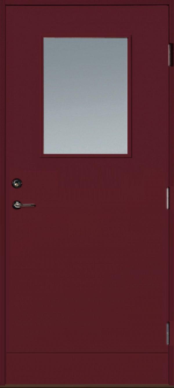 Dörr med glaas slät